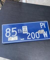 85th Pl ストリートサイン
