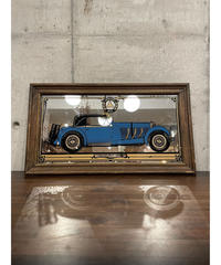 Mercedes Bentz ヴィンテージ クラシックカー パブミラー