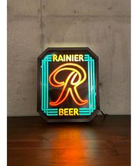Rainier Beer ヴィンテージ ウォール ランプ サイン