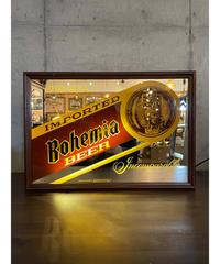 Bohemia Beer ヴィンテージ ライトニング パブミラー