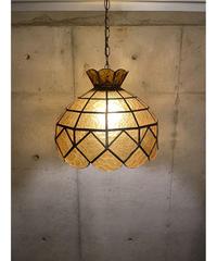 ヴィンテージ ステンドガラス ペンダント ランプ