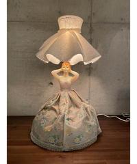 ヴィンテージ ドレスウーマン テーブルランプ