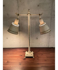 ヴィンテージ メタルベース 2 スポット テーブルランプ