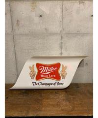 Miller ヴィンテージ  ライトサイン