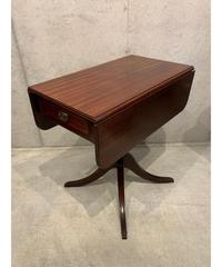 ヴィンテージ ドロップリーフ ウッド サイドテーブル