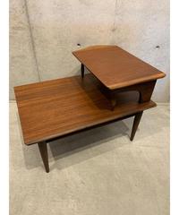 ミッドセンチュリー ウッド サイドテーブル ②