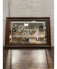 ヴィンテージ Private Bar パブミラー