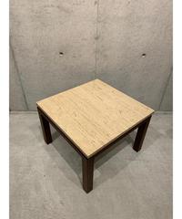 ヴィンテージ マーブルトップ ウッド サイドテーブル ②