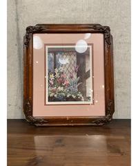 Susan Mcclure ヴィンテージ Devonshire Window Box アートプリント