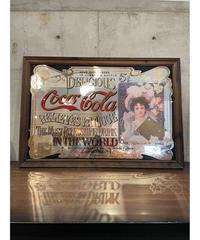 Coca Cola ラージ パブミラー