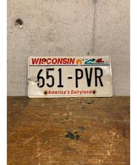 Wisconsin ライセンスプレート