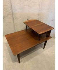 ミッドセンチュリー ウッド サイドテーブル ①
