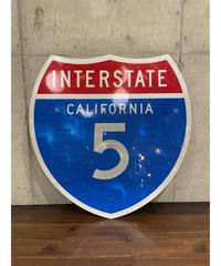 California Interstate 5 FWY メタルサイン