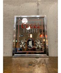 Coors Light ヴィンテージ パブミラー ②
