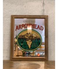 Arrowhead ヴィンテージ パブミラー