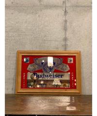 Budweiser ヴィンテージ パブミラー