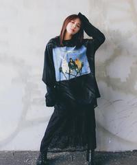 SELECT by Felilina ダメージ加工ロングスリーブTシャツ