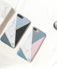mb-iphone-02357 タイプ45 マルチミックス 大理石柄 マーブル柄 天然石柄 ストーン柄 iPhoneケース