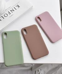 mb-iphone-02580  くすみカラー シンプル iPhoneケース