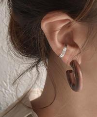 mb-earcuff-02001 SV925  ラインデザイン リングイヤーカフ シルバー925
