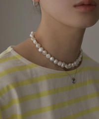 mb-necklace2-02048 日本製 36cm or 40cm バロック淡水パール ネックレス ☆WA04