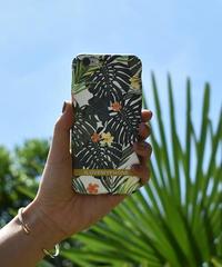 mb-iphone-02469 トロピカル リーフ マットな質感 iPhoneケース