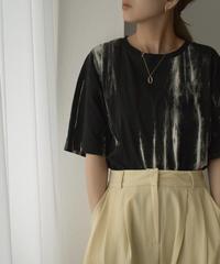 nh-tops-02222 モノトーン タイダイTシャツ