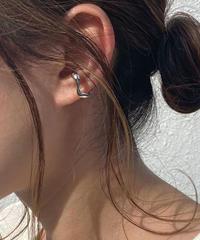 mb-earcuff-02012 SV925 ウェーブ イヤーカフ シルバー925  ゴールド
