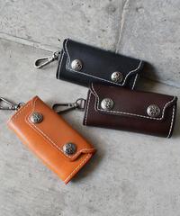 wallet-02067 本革レザー キーケース