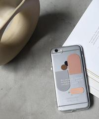 mb-iphone-02564 アートデザイン シンプル クリアケース iPhoneケース