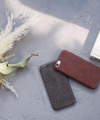 mb-iphone-02528 フェイクレザー クロコ型押し iPhoneケース