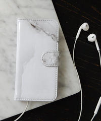 mb-iphone-02166 手帳型 合皮 大理石柄 マーブル柄 天然石柄 ストーン柄 iPhone6ケース
