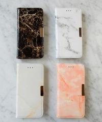 mb-iphone-02319 タイプ2 手帳型 合皮 大理石柄 マーブル柄 天然石柄 ストーン柄 iPhoneケース