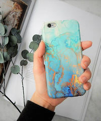 mb-iphone-02281 タイプ43  大理石柄 マーブル柄 天然石柄 ストーン柄 iPhoneケース