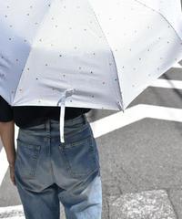 raingoods-02008 ストライプ&トライアングル 折りたたみ傘 日傘 雨傘 晴雨兼用