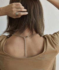 mb-necklace2-02033 日本製 ボールチェーン ネックレス 5mm玉 ショートタイプ ☆WA04