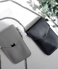 mb-iphone-02412 ショルダーチェーン付き iPhon収納ケース  iPhoneケース