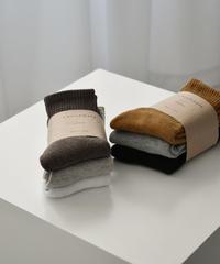 mh-socks-02002 細リブソックス 3足セット