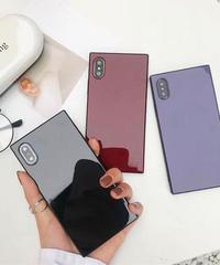mb-iphone-02471  タイプ2 スクエアバンパー シンプル iPhoneケース