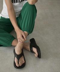 shoes-02138 プラットフォーム リカバリーサンダル ブラック