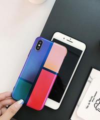 mb-iphone-02481 カラー ブロック iPhoneケース