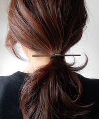 mb-hair-02185 バーヘアゴム ゴールド シルバー