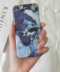 mb-iphone-02058  タイプ15 ダークブルー 大理石 マーブル柄 ストーン柄 天然石柄 iPhoneケース