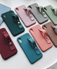mb-iphone-02551 ベルト付き 落下防止  iPhoneケース