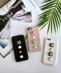 mb-iphone-02341 スタッズ付き iPhoneケース