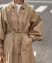 coat-02021 バルーンスリーブ トレンチコート