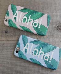 mb-iphone-02185 Aloha! リーフハワイアン iPhoneケース