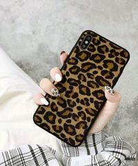 mb-iphone-02511 ハラコ調 レオパード柄 ヒョウ柄 iPhoneケース