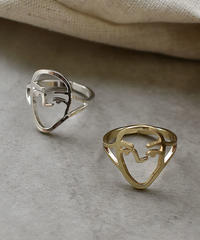 mb-ring2-02010 フェイスモチーフリング