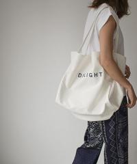 bag2-02507 キャンバス ロゴビッグトート ホワイト ラベンダー